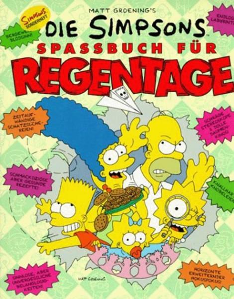 Simpsons - Spassbuch für Regentage