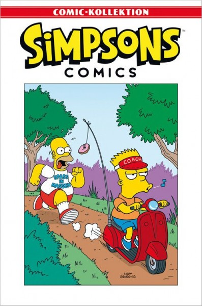 Simpsons Comic-Kollektion 4: Fit für den Sommer in 140 Seiten Cover