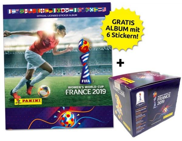 FIFA Women's World Cup 2019 – Sticker-Starter-Bundle