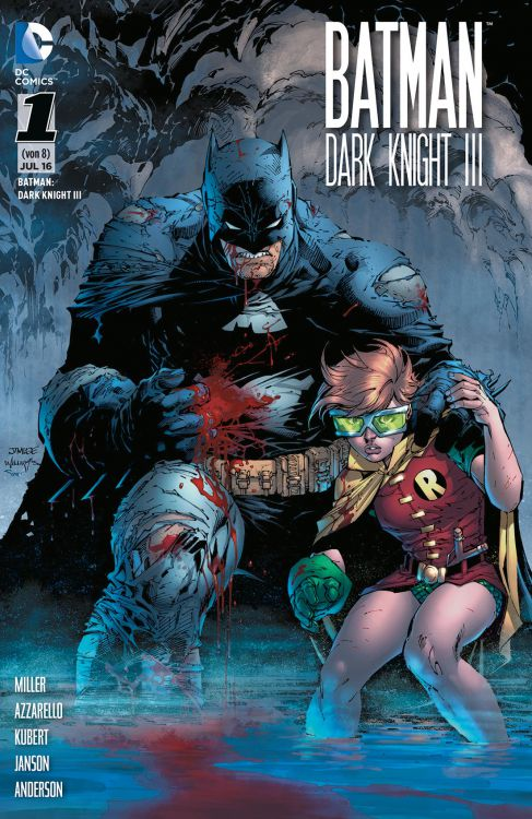 Batman - Dark Knight III 1 Variant