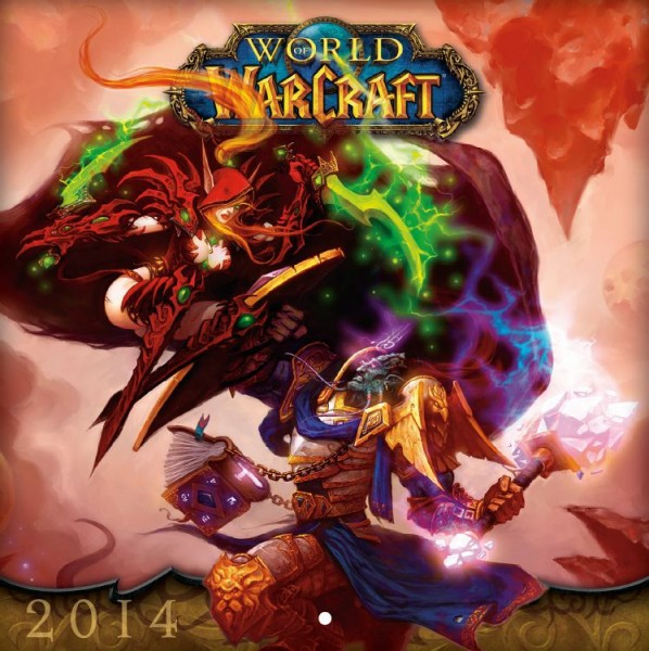 World of Warcraft - Wandkalender (2014)