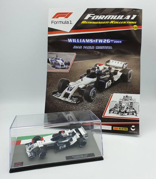 Formula 1 Rennwagen-Kollektion 68 - Juan Pablo Montoya (Williams FW26)