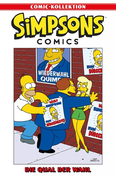 Simpsons Comic-Kollektion 55: Die Qual der Wahl
