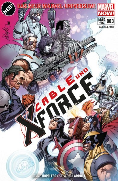 Cable & X-Force 3