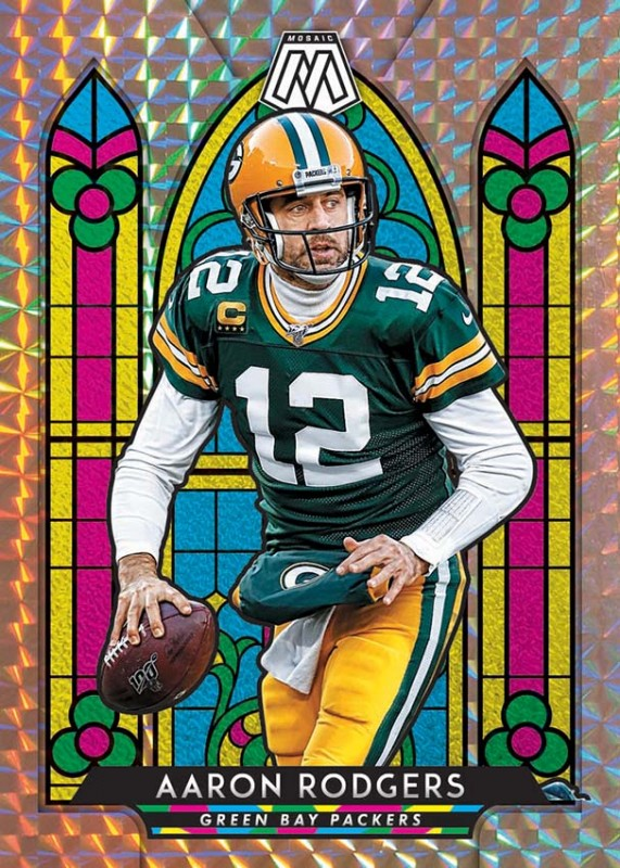 NFL Mosaic 2020 Trading Cards - Aaron Rodgers