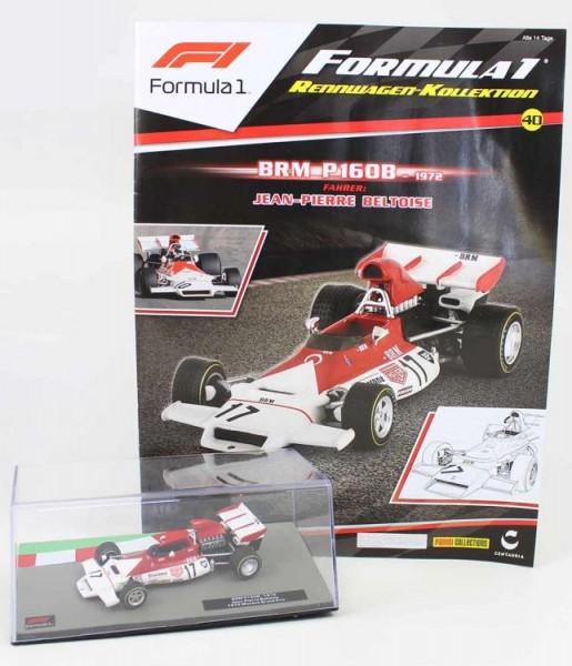 Formula 1 Rennwagen-Kollektion 40: Jean Pierre Beltoise (BRM P160B)
