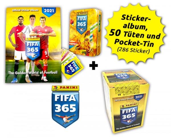 Panini FIFA 365 Stickerkollektion 2021 - Tin-Box-Bundle