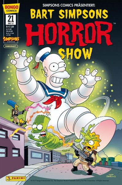 Bart Simpsons Horror Show 21