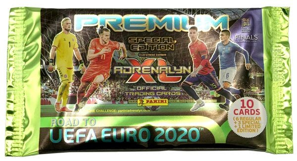 Road To UEFA Euro 2020 Adrenalyn XL - Premium Tüte