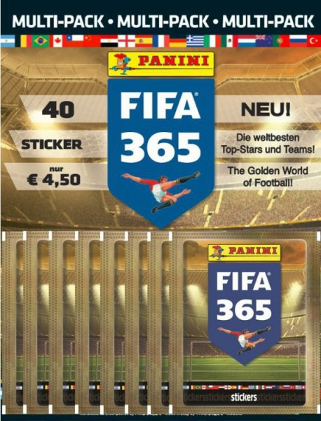 FIFA 365 2016 - Multipack