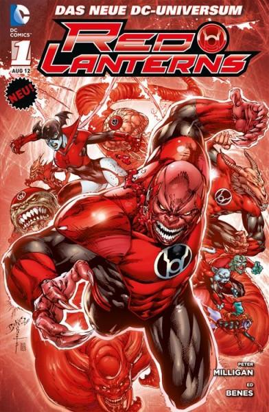 Red Lanterns 1: Blut und Zorn