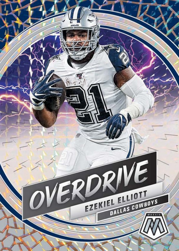 NFL Mosaic 2020 Trading Cards - Ezekiel Elliott