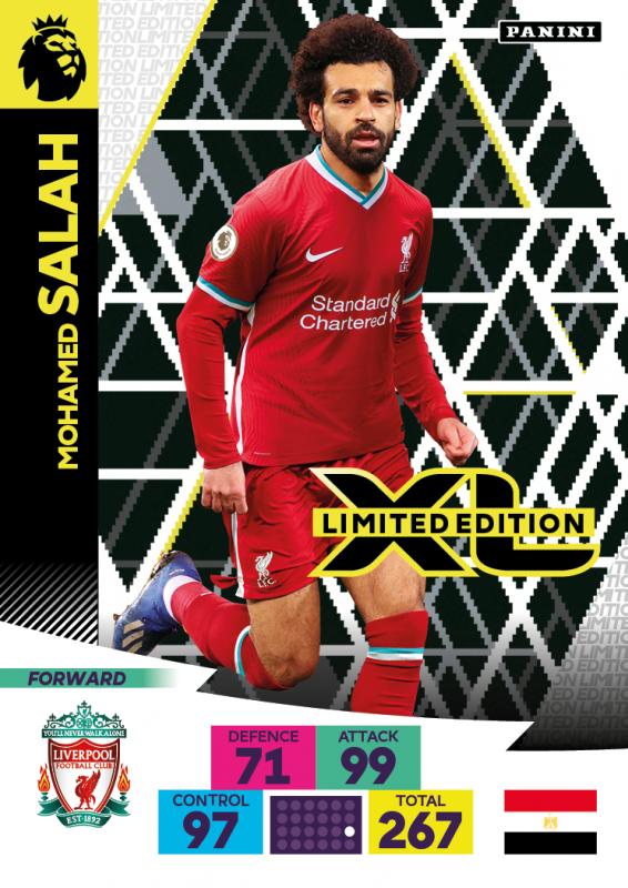 Panini Premier League Adrenalyn XL 2020/21 - Mo Salah