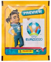 UEFA EURO 2020 Official Sticker Preview Collection - International Tüte