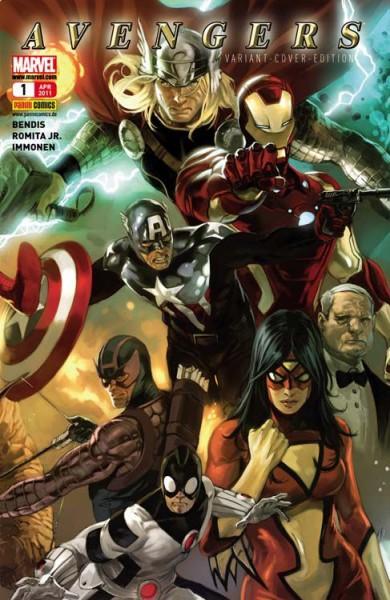 Avengers 1 (2011) Variant