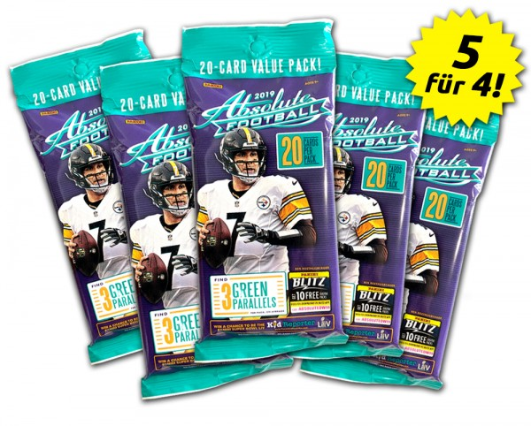 NFL Absolute Football 2019 Fatpack-Set
