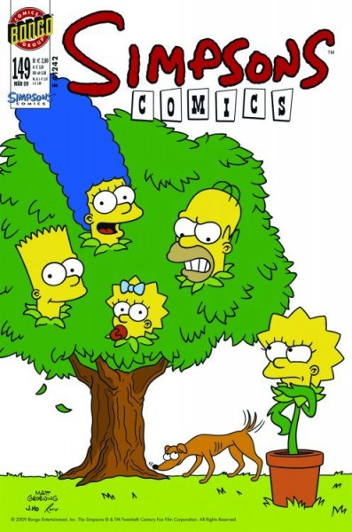 Simpsons Comics 149