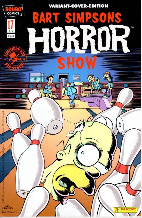 Bart Simpsons Horror Show 17 Variant
