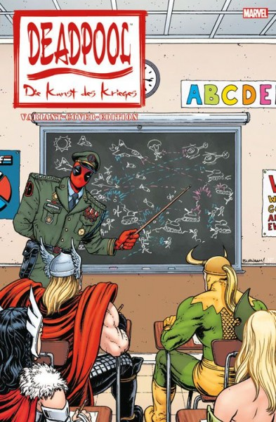 Deadpool: Die Kunst des Krieges Comic Action 2015 Variant