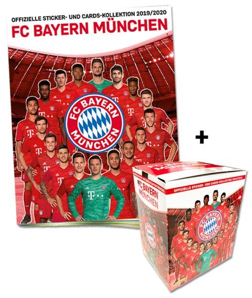 FC Bayern München: Offizielle Sticker- und Cards-Kollektion 2019/2020 - Megabundle
