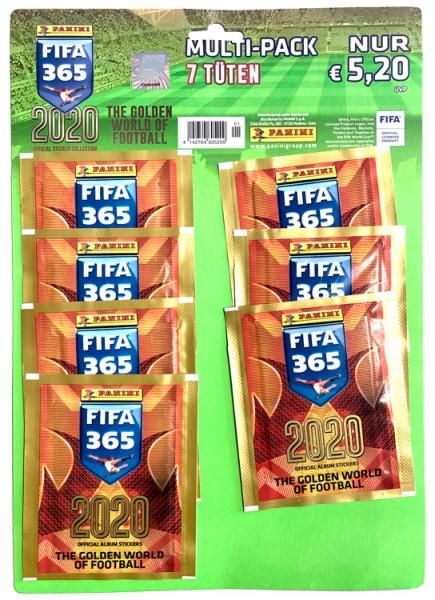 Panini FIFA 365 2020 Stickerkollektion – Multipack