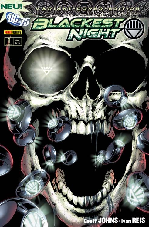 Blackest Night 1 Variant