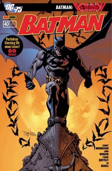 Batman 40: Batman Reborn