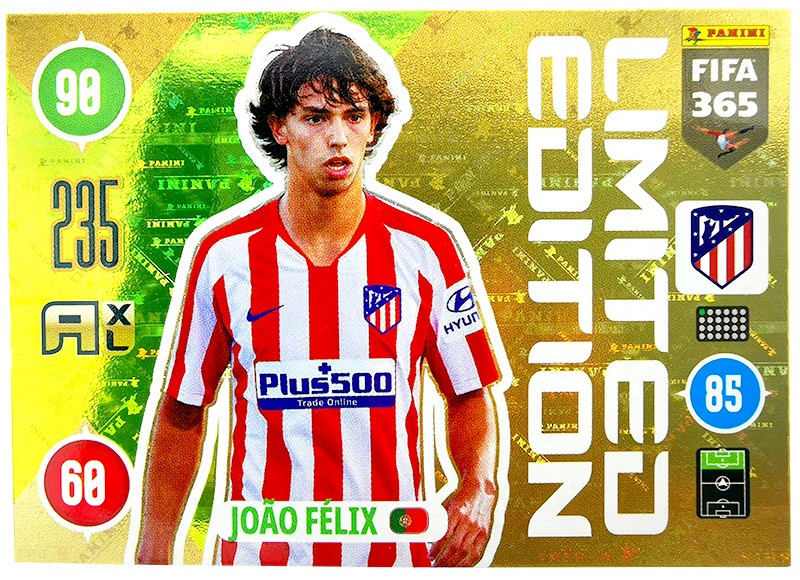 Panini FIFA 365 Adrenalyn XL 2021 - Limited Edition Card Joao Felix