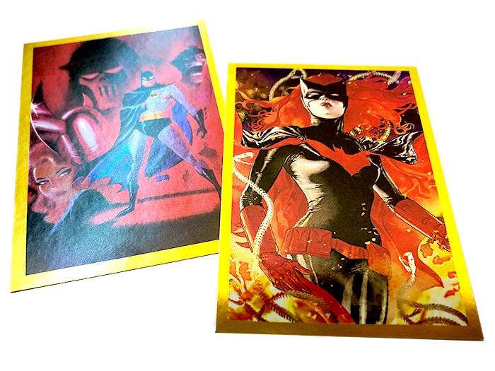 80 Jahre Batman Jubiläumskollektion:Special Sticker Gold Beispiel