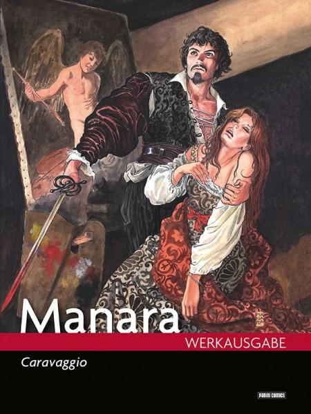 Manara Werkausgabe 18: Caravaggio Cover