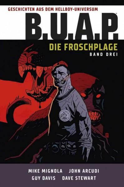 Geschichten aus dem Hellboy-Universum: B.U.A.P. - Die Froschplage 3 Cover