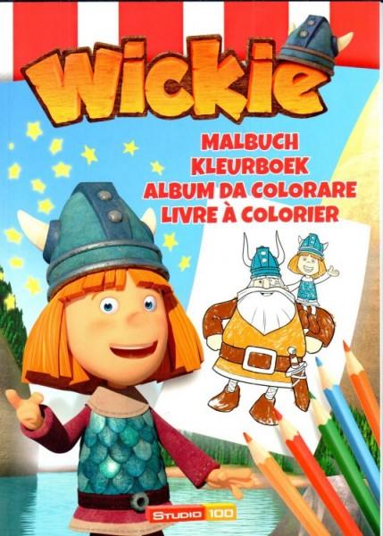Wickie - Malbuch