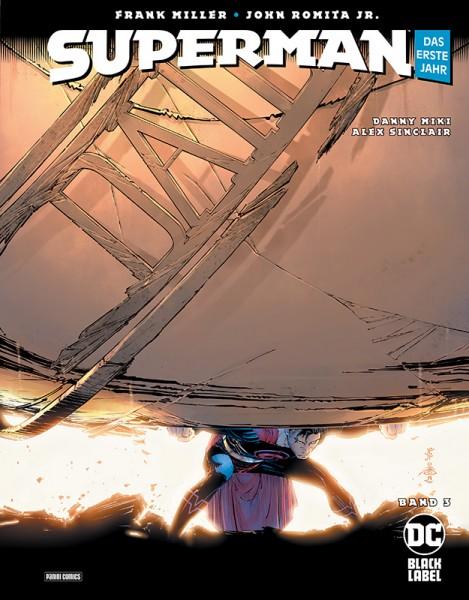 Superman: Das erste Jahr 3 Cover