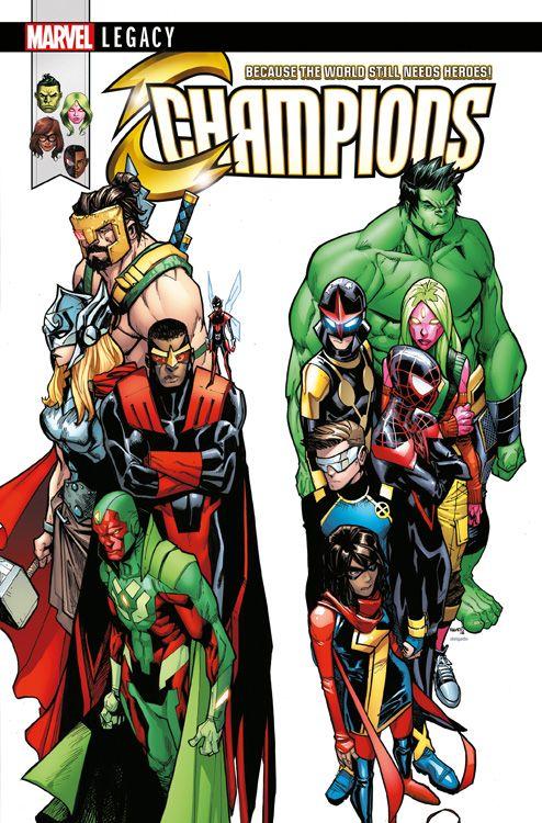 Marvel Legacy: Avengers/Champions -...