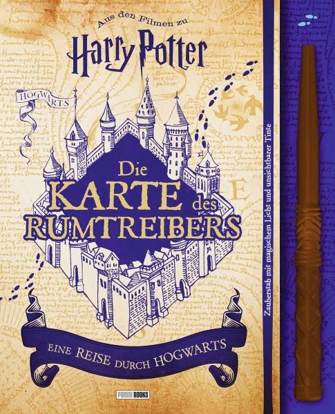 Harry Potter: Die Karte des Rumtreibers - eine Reise durch Hogwarts