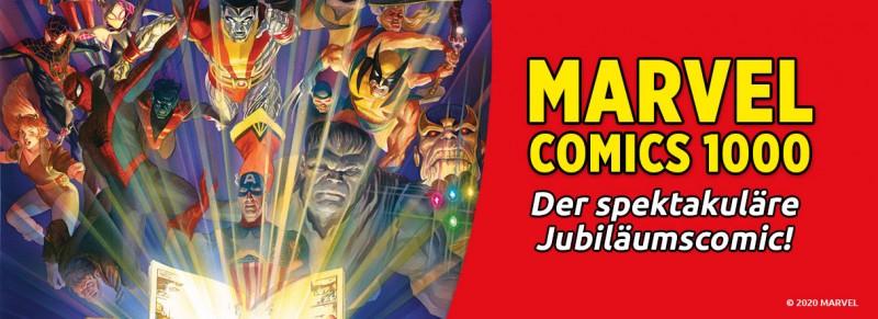Marvel Comics 1000 – Der spektakuläre Jubiläumscomic