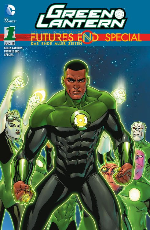Green Lantern: Futures End Special 1...