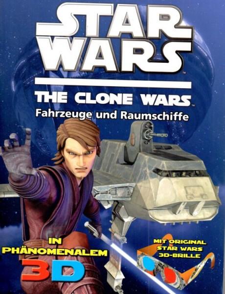 Star Wars: The Clone Wars - Fahrzeuge und Raumschiffe in Phänomenalem 3D