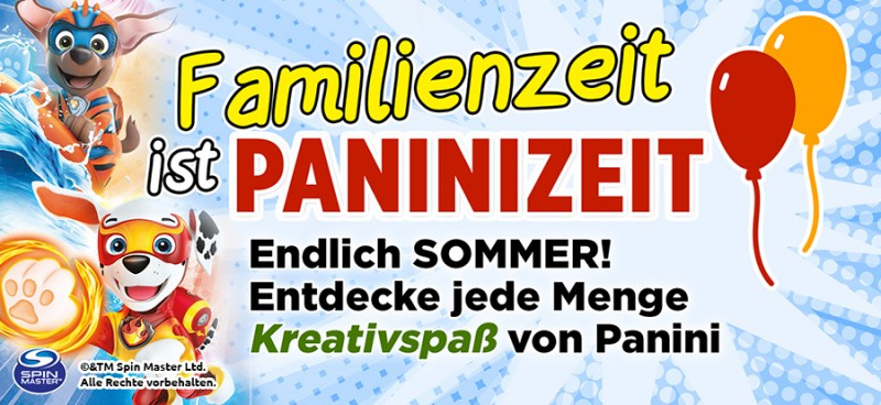 Familienzeit ist Paninizeit – Endlich Sommer! Entdecke Kreativspaß mit Panini
