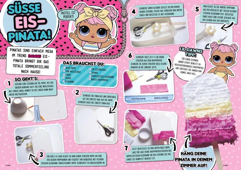 Bastelanleitung LOL Magazin 0219 Eis-Pinata