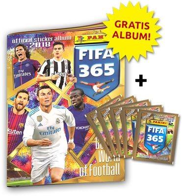 Panini FIFA 365 2018 Stickerkollektion - Bundle 3