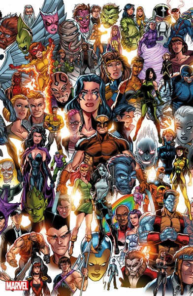 X-Men 4 - Mystique läuft Amok Panorama Variant Cover