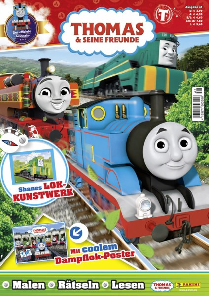 Thomas und seine Freunde Magazin 41