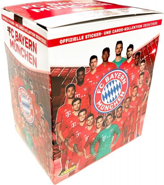 FC Bayern München - Offizielle Sticker- und Cards-Kollektion 2019/2020 - Box