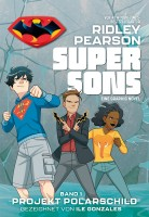 Super Sons 1: Projekt Polarschild Cover
