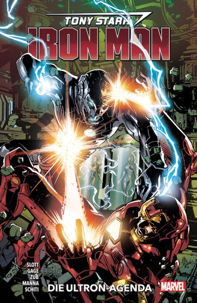 Tony Stark: Iron Man 4 - Die Ultron-Agenda Cover