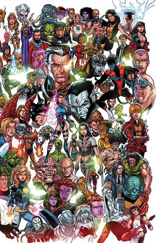 X-Men 6 Panorama Variant