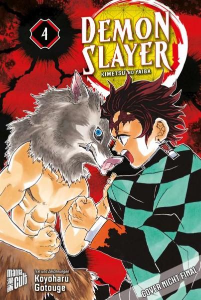 Demon Slayer: Kimetsu No Yaiba 4 Cover