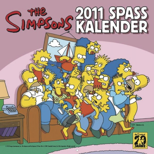 Simpsons - Wandkalender (2011)