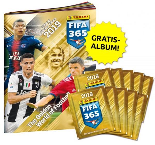 Panini FIFA 365 2019 Stickerkollektion – Mini-Bundle 2